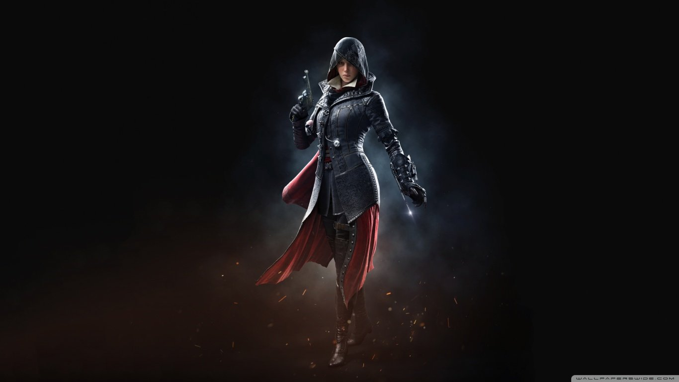Evie Frye   Assassins Creed Syndicate 2015 4K HD Desktop 1366x768