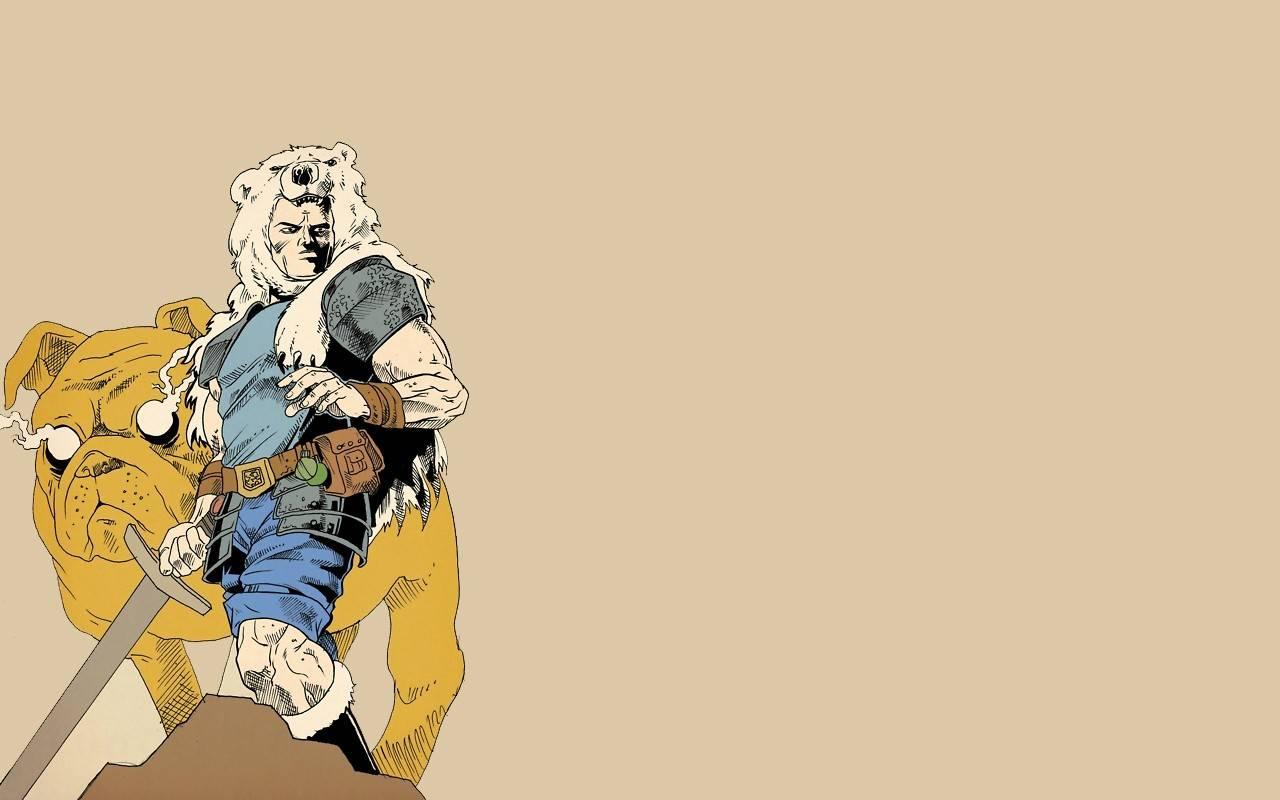 finn and jake alternative 2   Adventure Time Wallpaper 1280x800