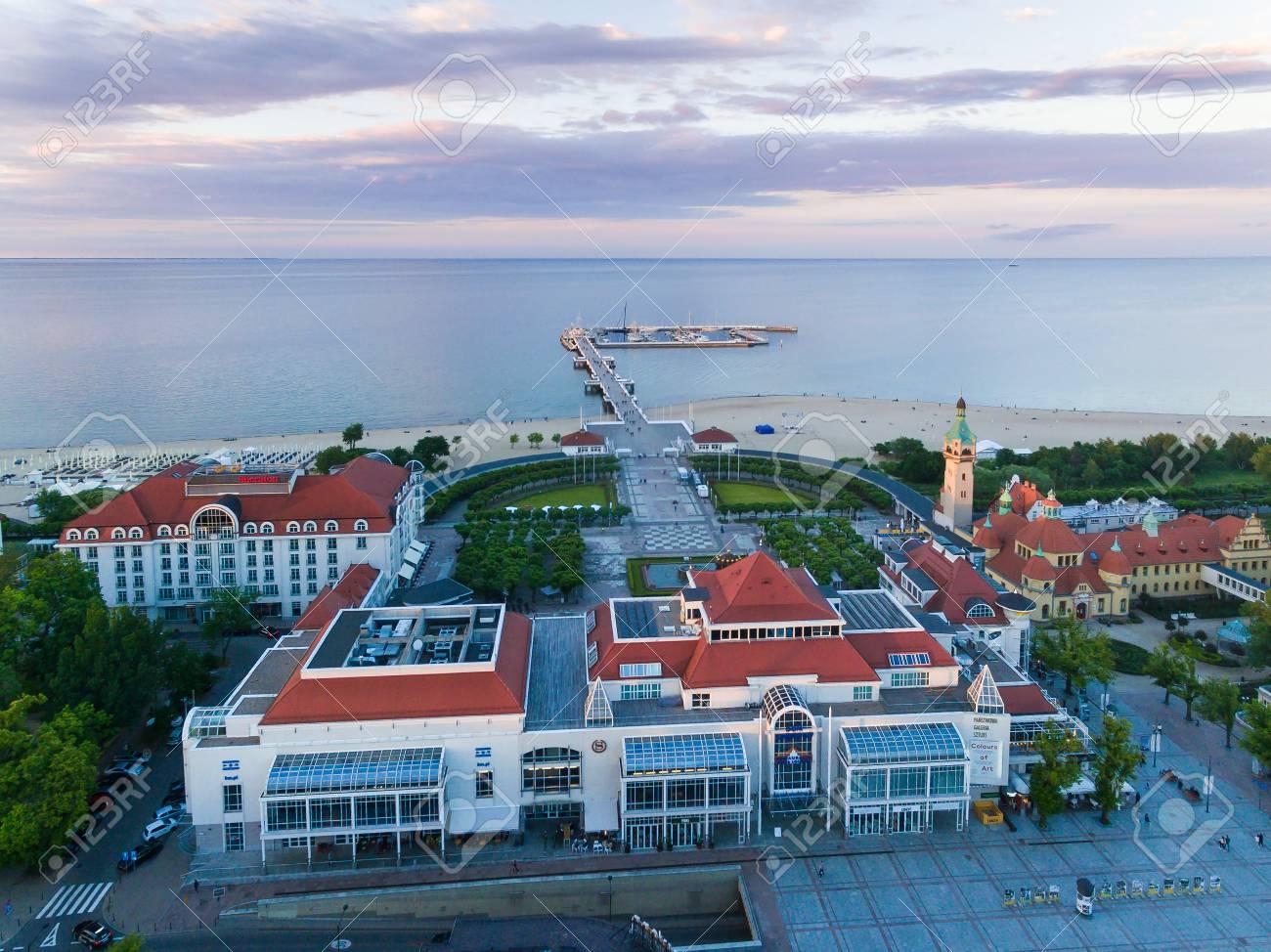 Sopot Poland   June 10 2017 Bird eye View Of Sheraton Hotel 1300x974