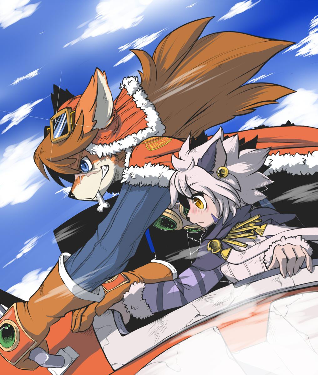 Solatorobo   Zerochan Anime Image Board 1017x1200