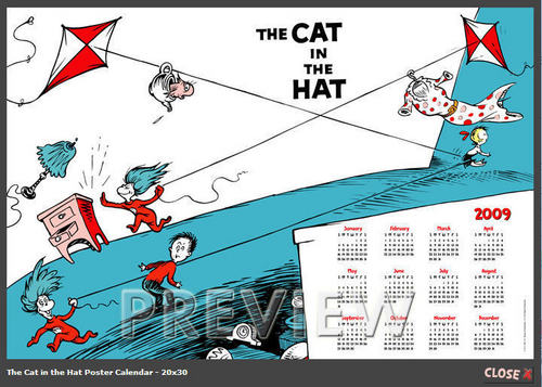 Cat in the Hat Movie images The Cat In The Hat Calendar 500x357