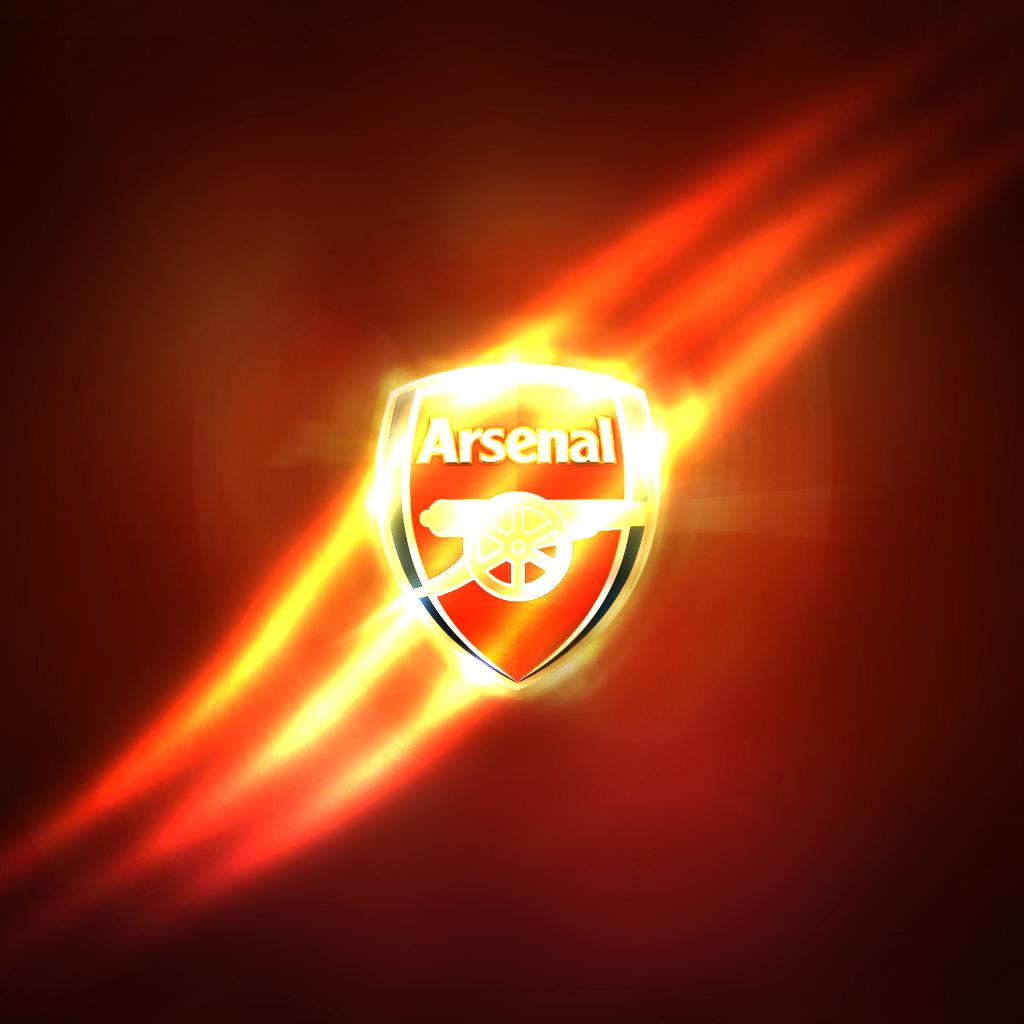 Arsenal Logo wallpaper 1024x1024