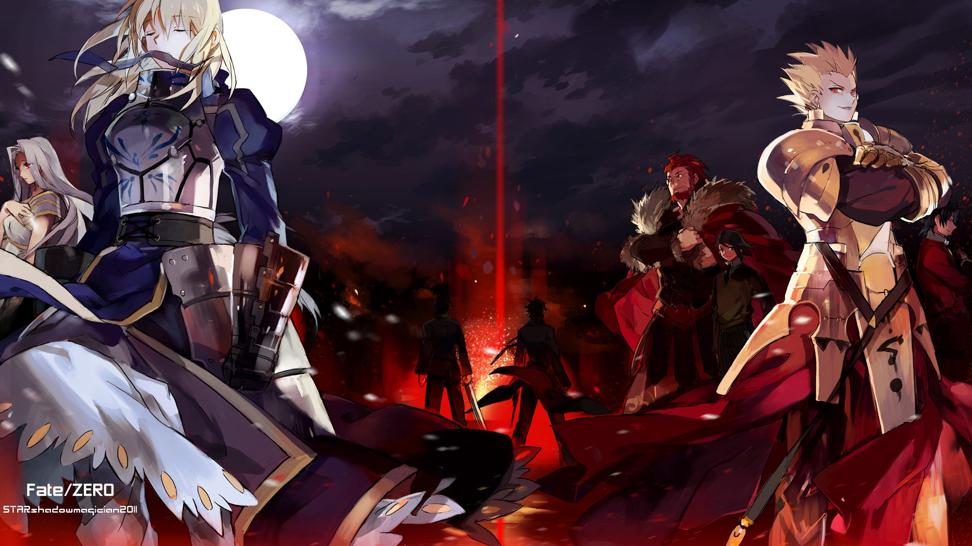 images Fate Stay Night HD wallpaper and background photos 32290756 1920x1080