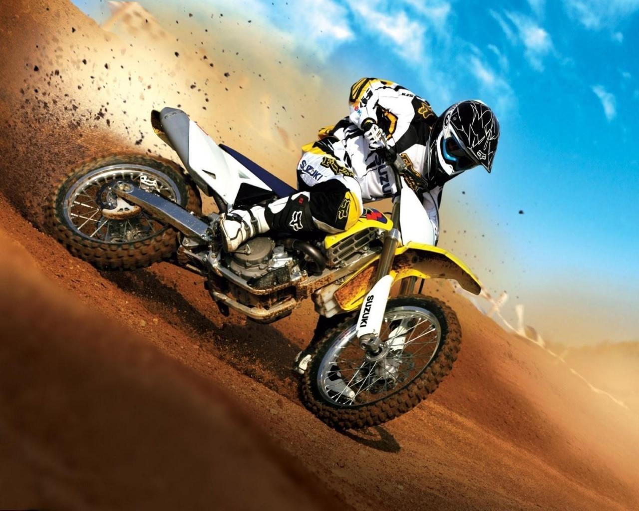 1280x1024 Super Dirt Bike desktop PC and Mac wallpaper 1280x1024