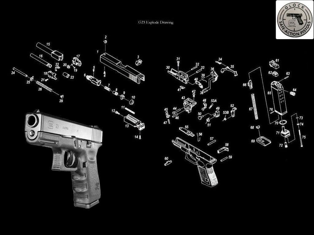 Glock 19 Gen 4 Wallpaper