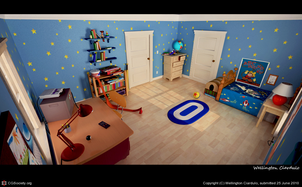 Room Toy Story 3 Great Home Inteiror