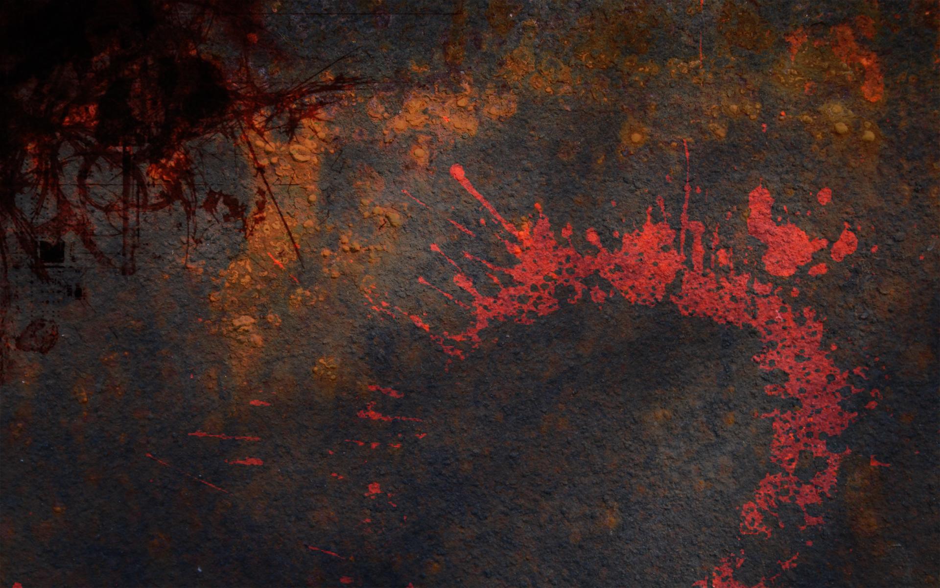 Grunge Metal Wallpaper 1920x1200 Grunge Metal Paint Splashes 1920x1200
