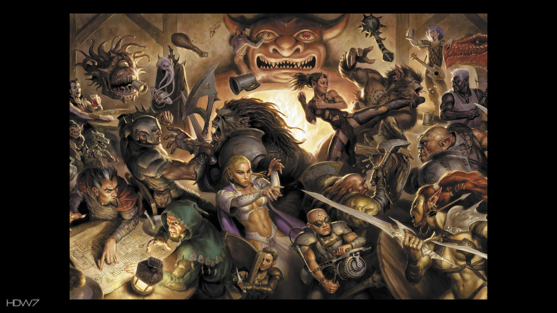 dungeons and dragons wallpaper HD 1920x1080