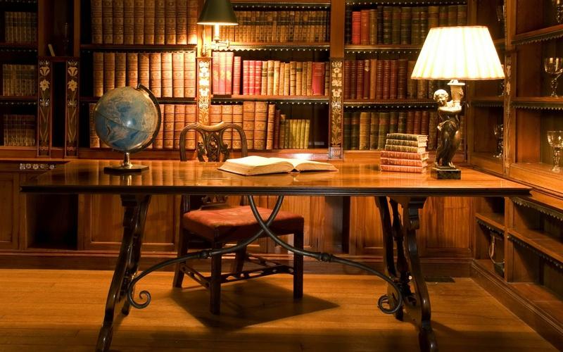library books desk bookshelf antique 2560x1600 wallpaper Aircraft 800x500