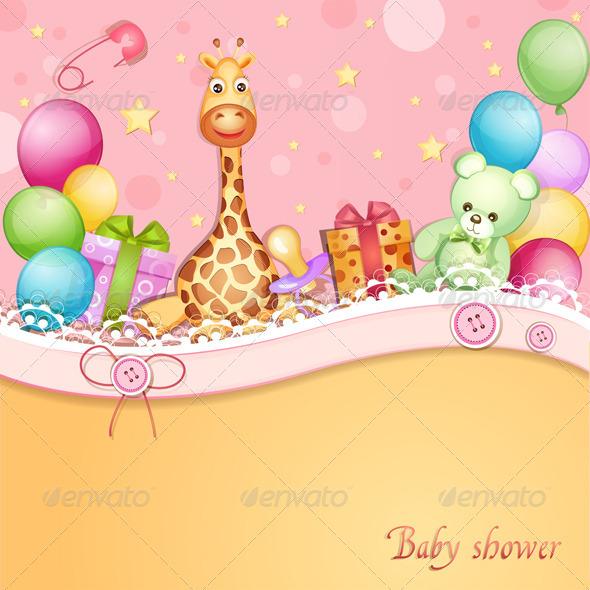 Baby Shower Wallpaper - WallpaperSafari