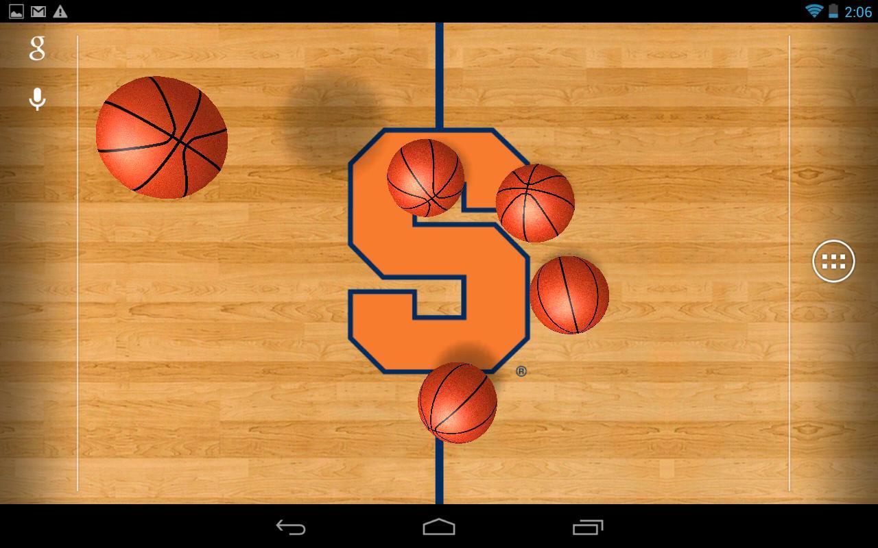 College Basketball LWP   screenshot 1280x800