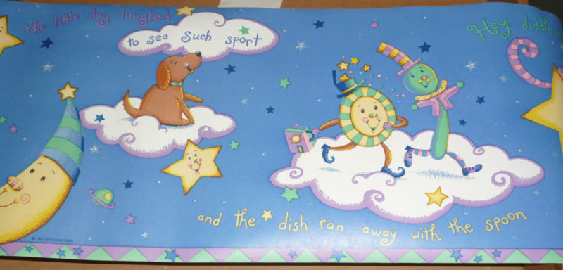 Rhymes Wallpaper Border For Sale 800x384