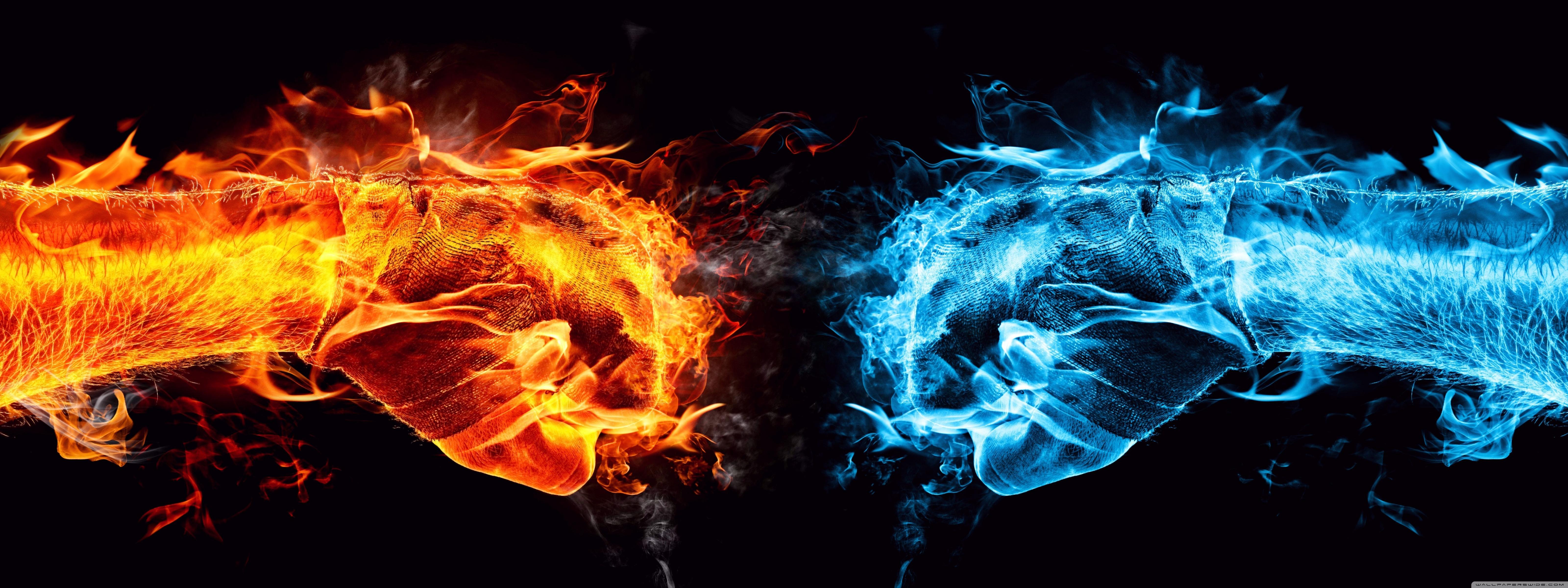 Обои черные пламя на рабочий стол