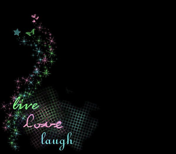 Wallpaper Of Love Quotes For Facebook: Live Love Laugh Wallpaper