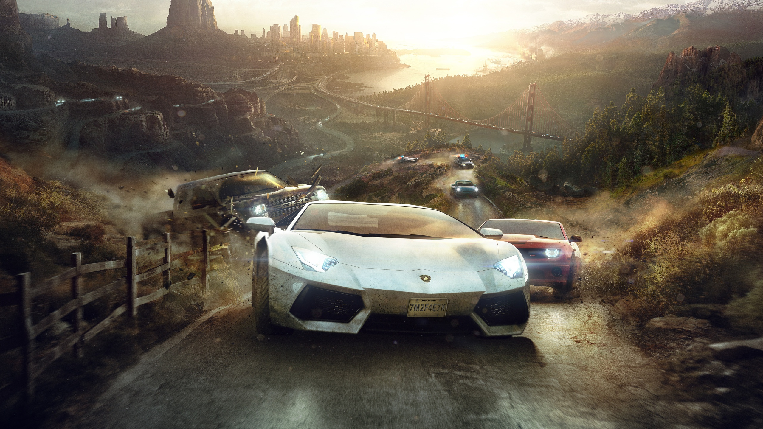 The Crew 2014 Game Wallpapers HD Wallpapers 2560x1440