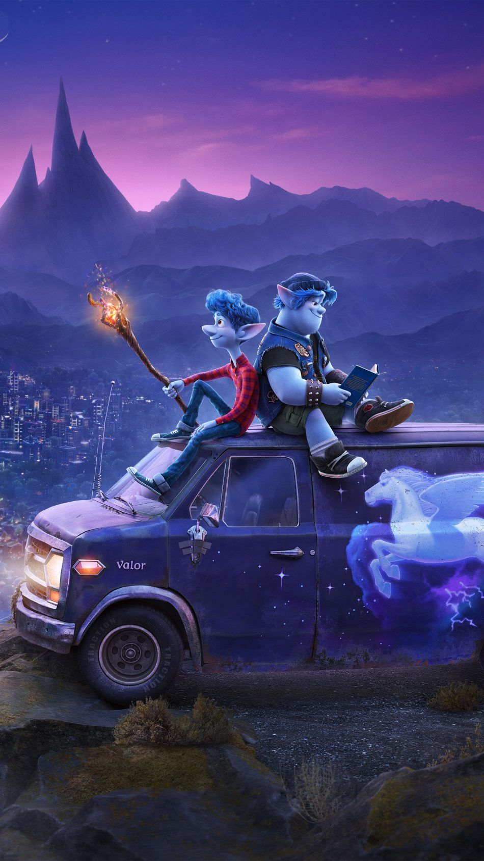 Onward Animation 2020 Disney pixar movies Disney art Animation 950x1689