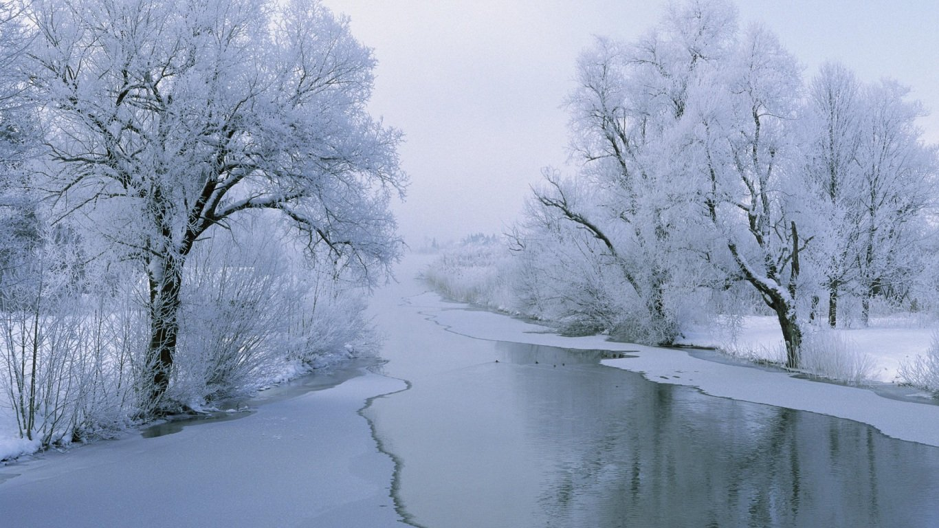 43 Beautiful Winter Wallpapers   Wallpapers for dekstop 1366x768