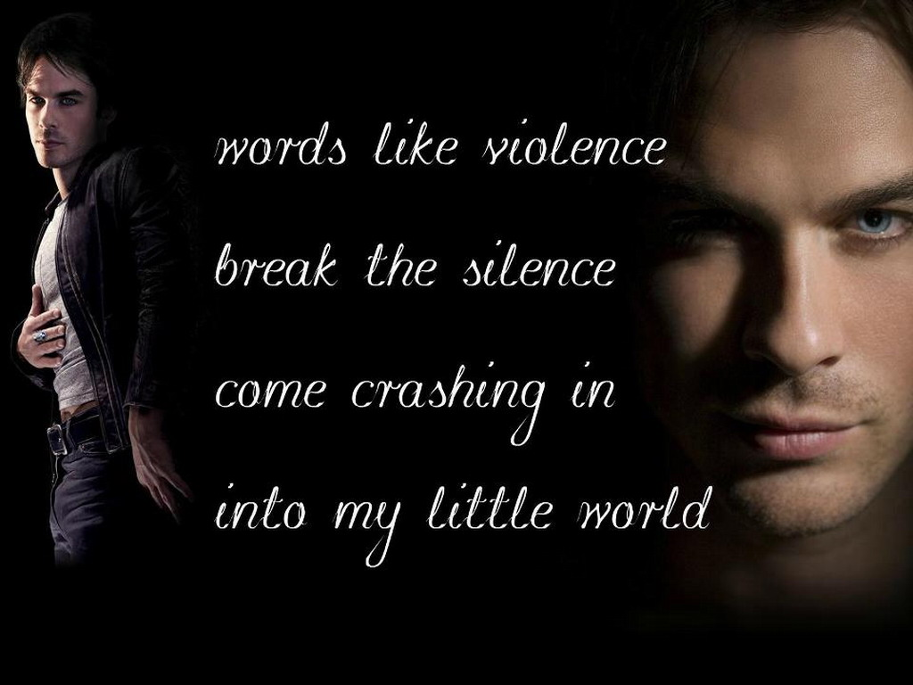 Damon   The Vampire Diaries Wallpaper 32324452 1024x768