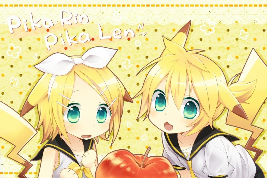 Free Download Vocaloid Kagamine Rin Len Hd Wallpaper Anime