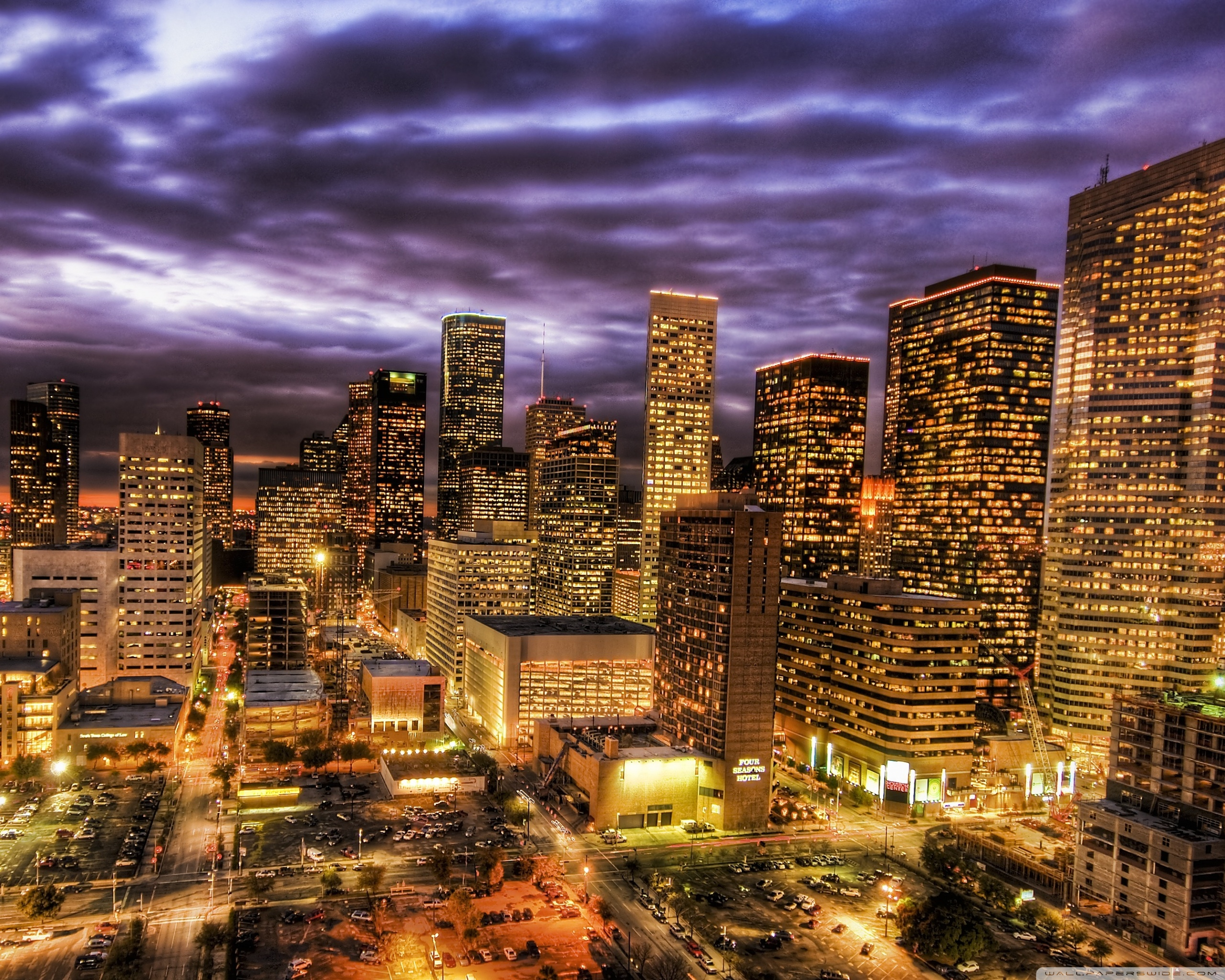 Houston Skyline Wallpaper Release Date Price and Specs 2560x2048