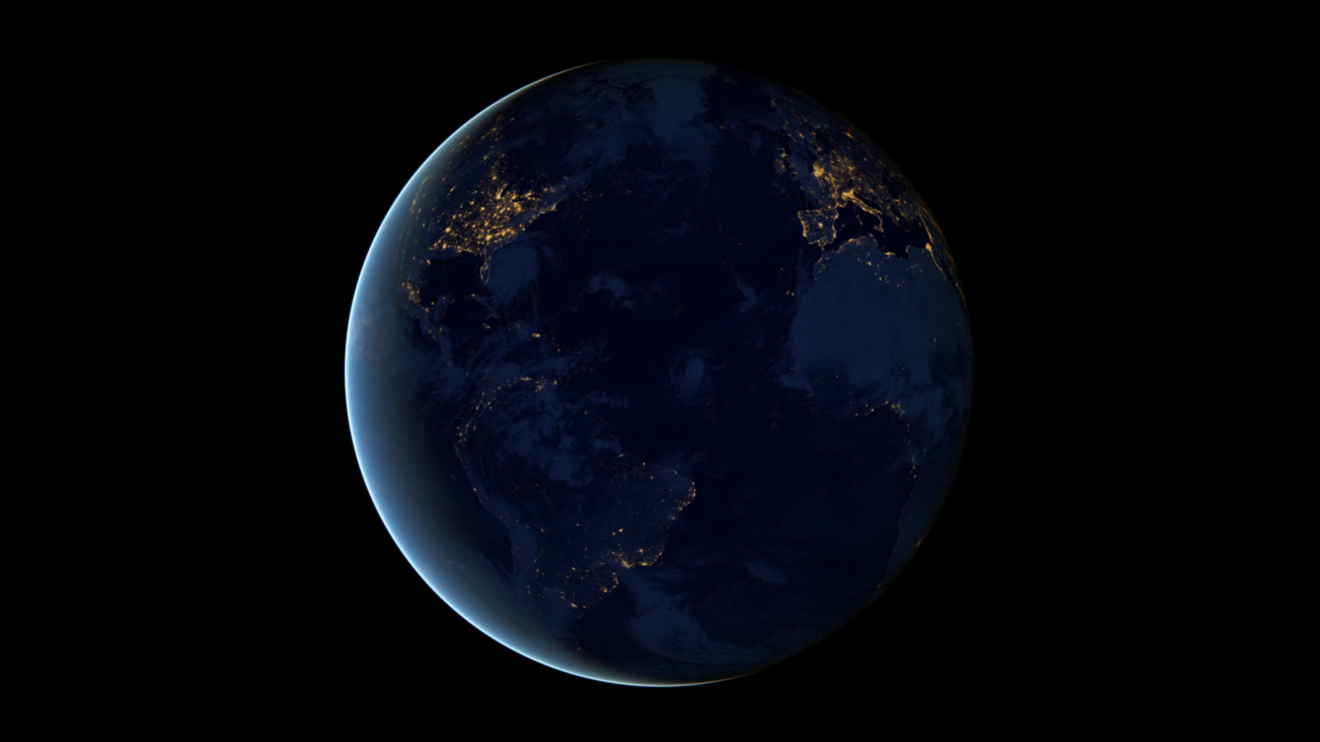 Earth at Night Photos and Wallpapers Earth Blog 1920x1080