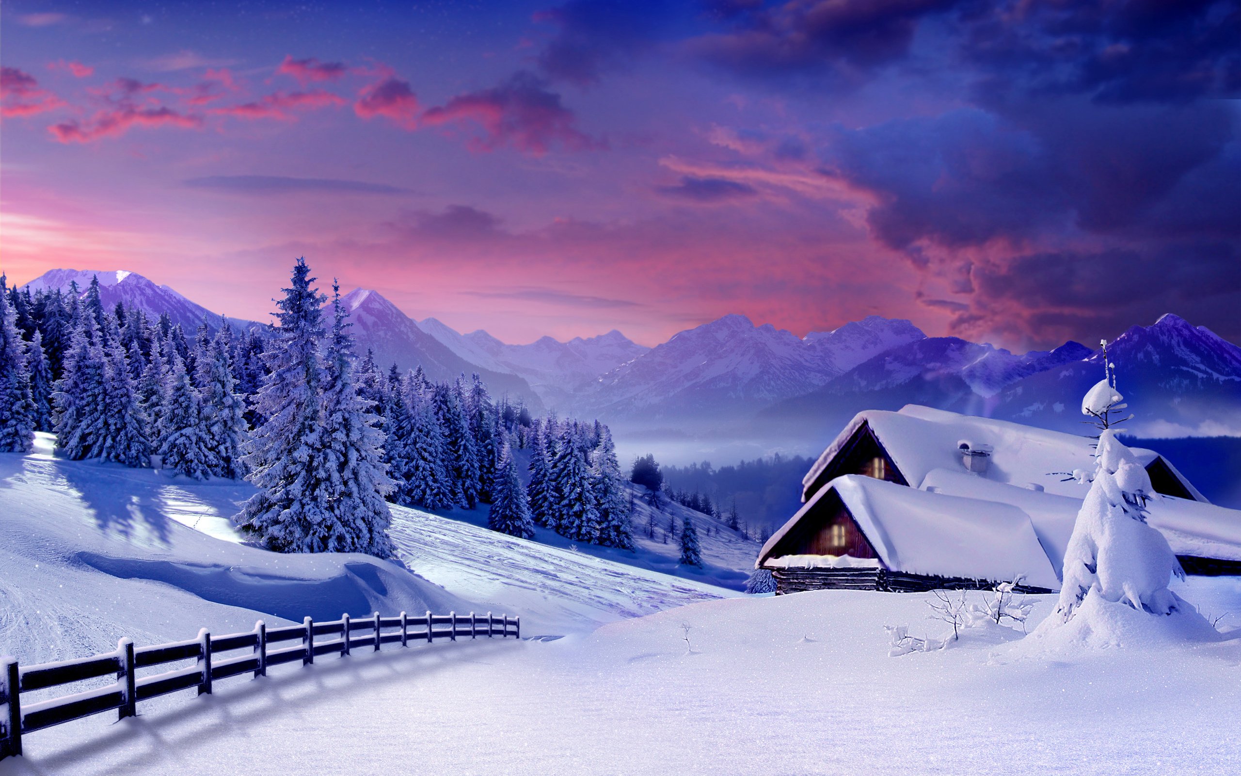Winter HD Wallpapers Winter Desktop Wallpapers Nature Winter 2560x1600