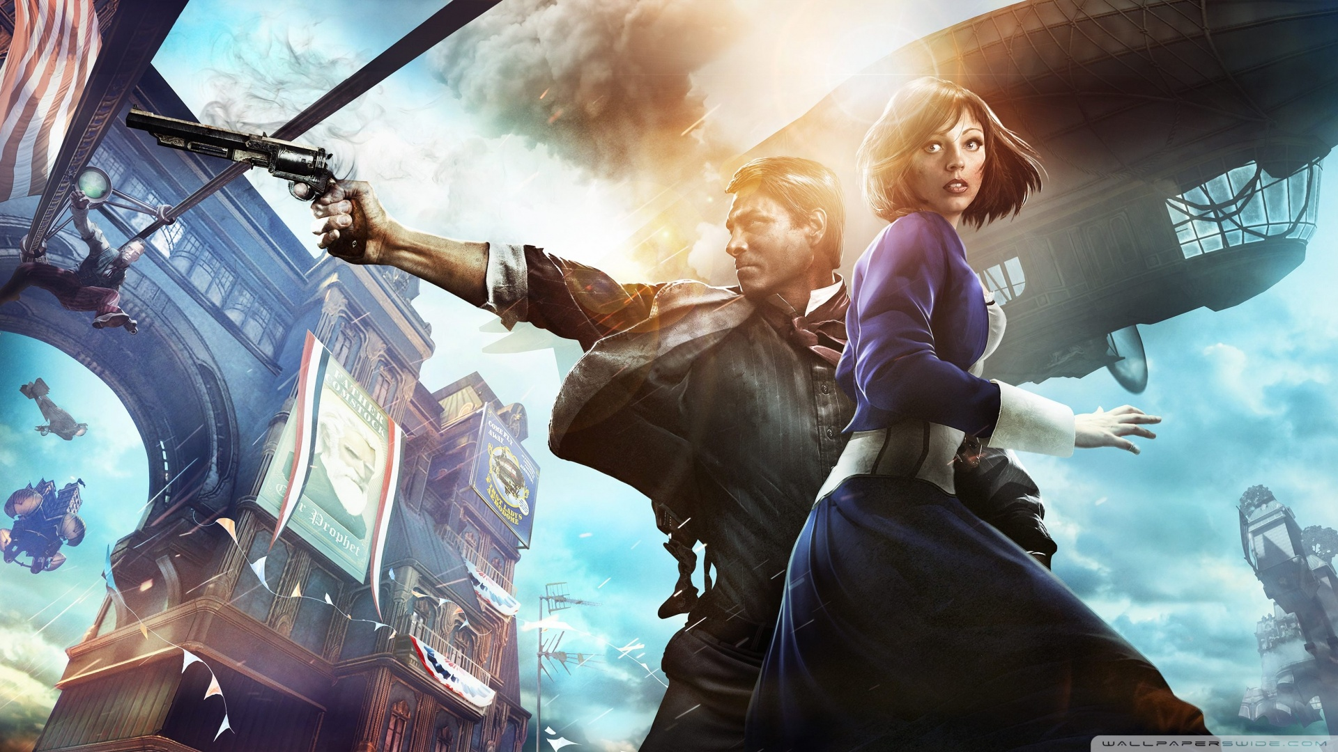 Bioshock Infinite 4K HD Desktop Wallpaper for 4K Ultra HD TV 1920x1080