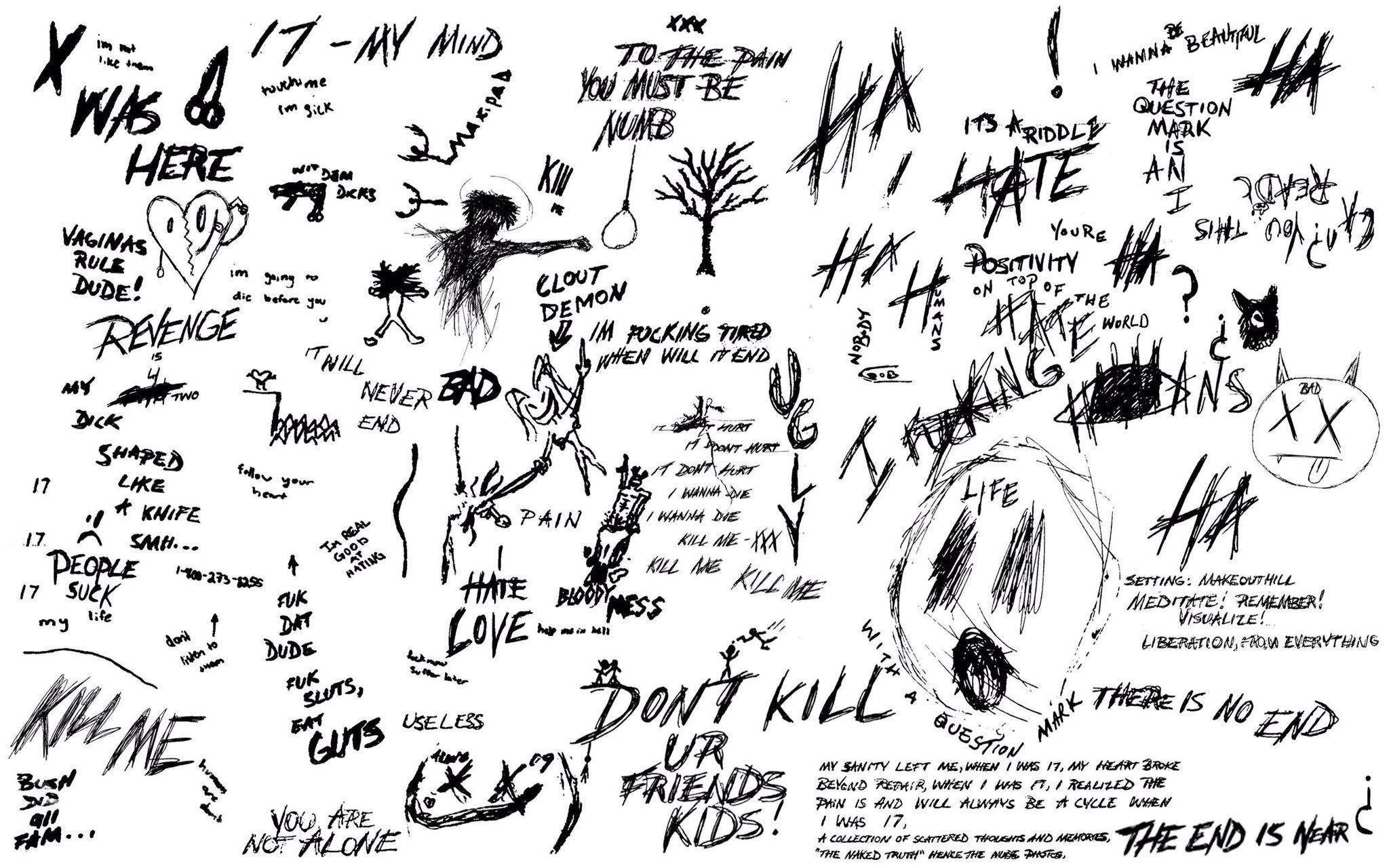 xxx   fanpage on Twitter A wallpaper of xxxtentacions drawings 2048x1280