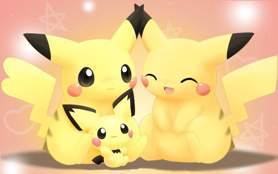 pichu pikachu pokemon wallpaper   ForWallpapercom 969x606