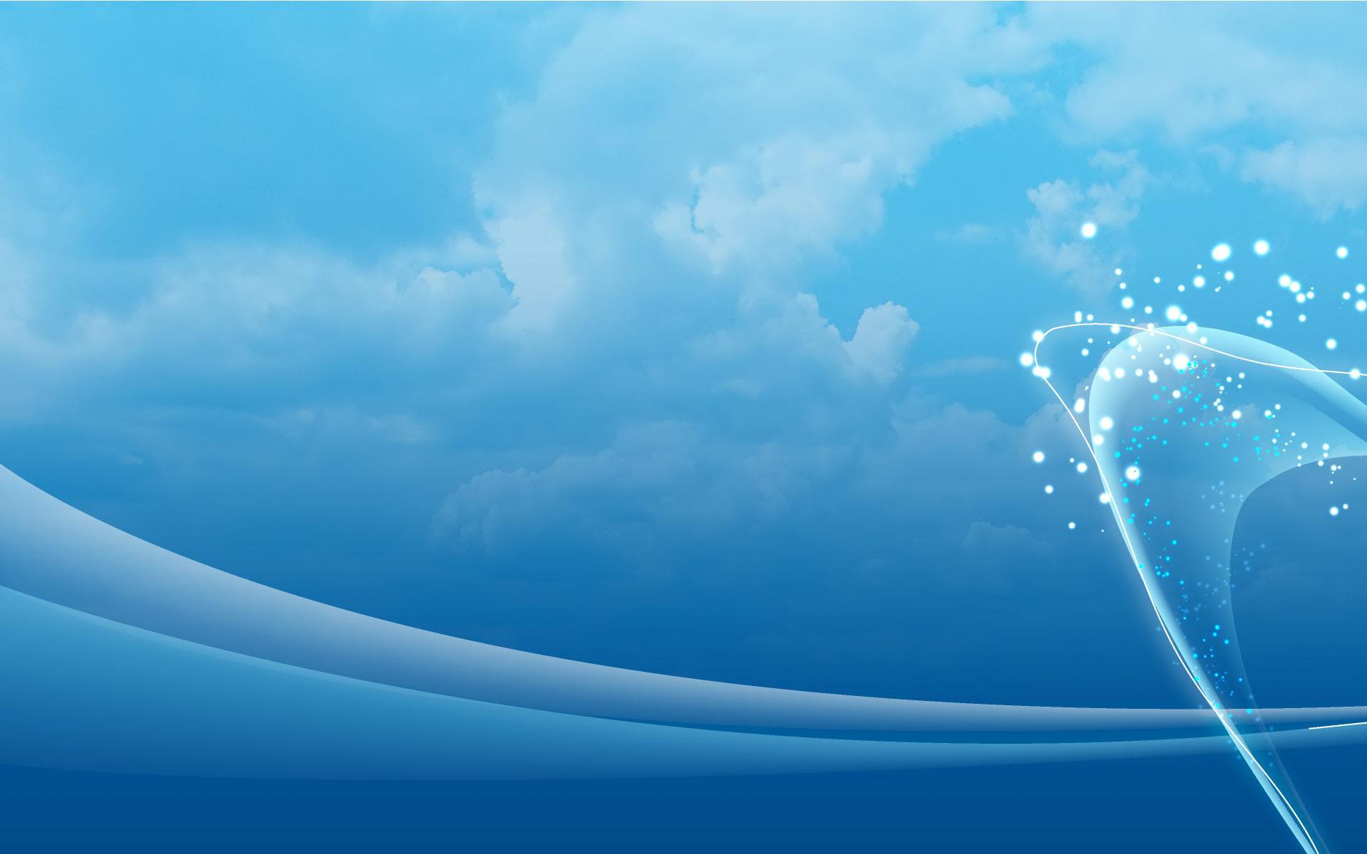 sky blue 22 wallpaper background hd 1jpg   Tyee Windows 1920x1200