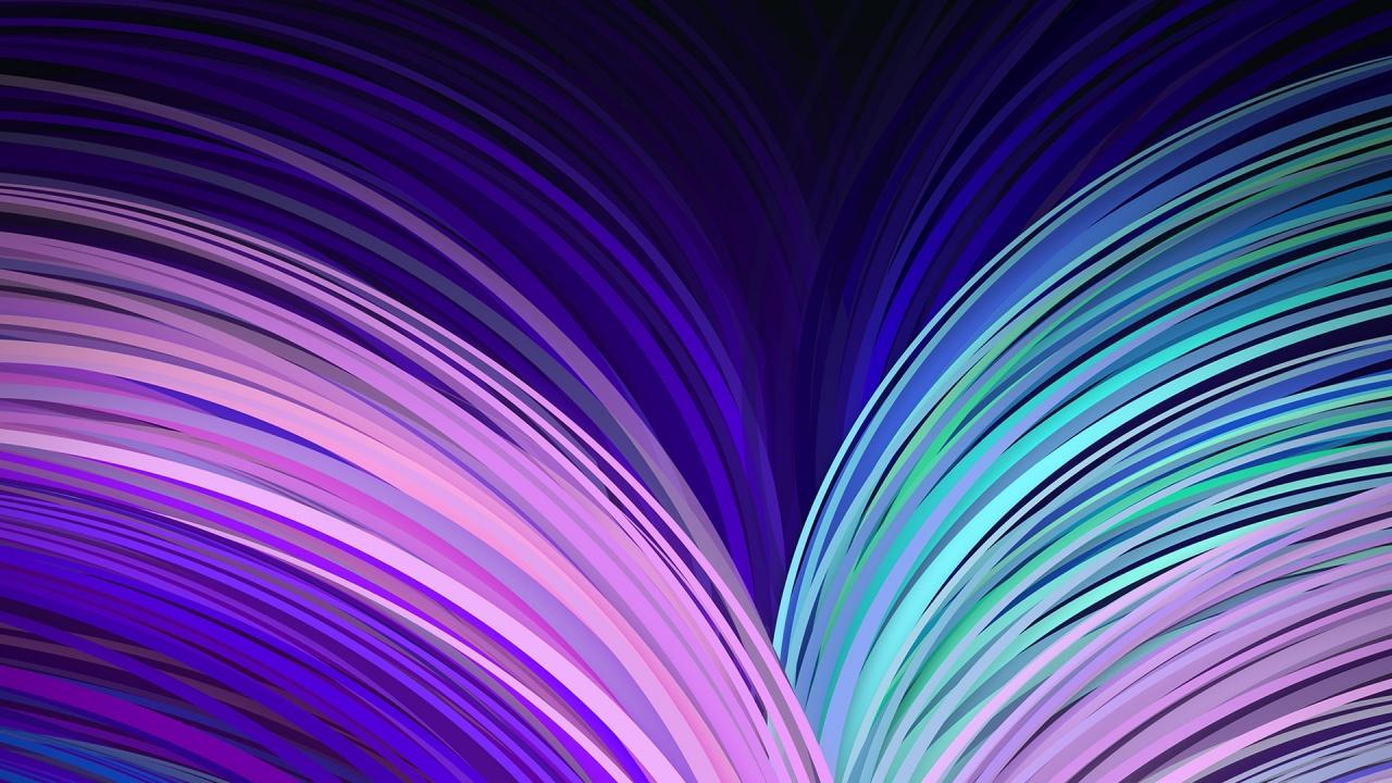 Neon Flow Wallpapers HD Wallpapers 1280x720