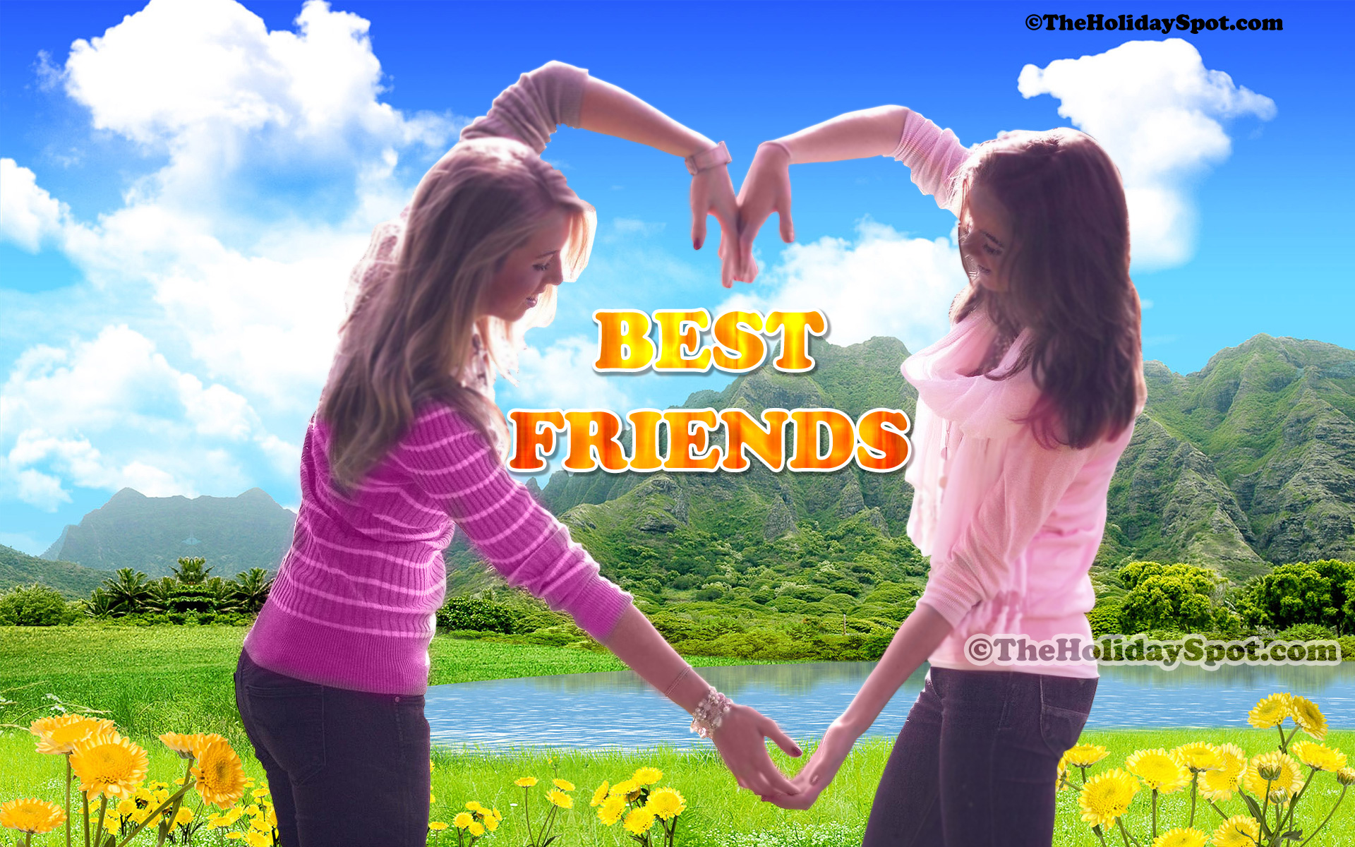 Friendship Wallpapers and Backgrounds in HD 1920x1200