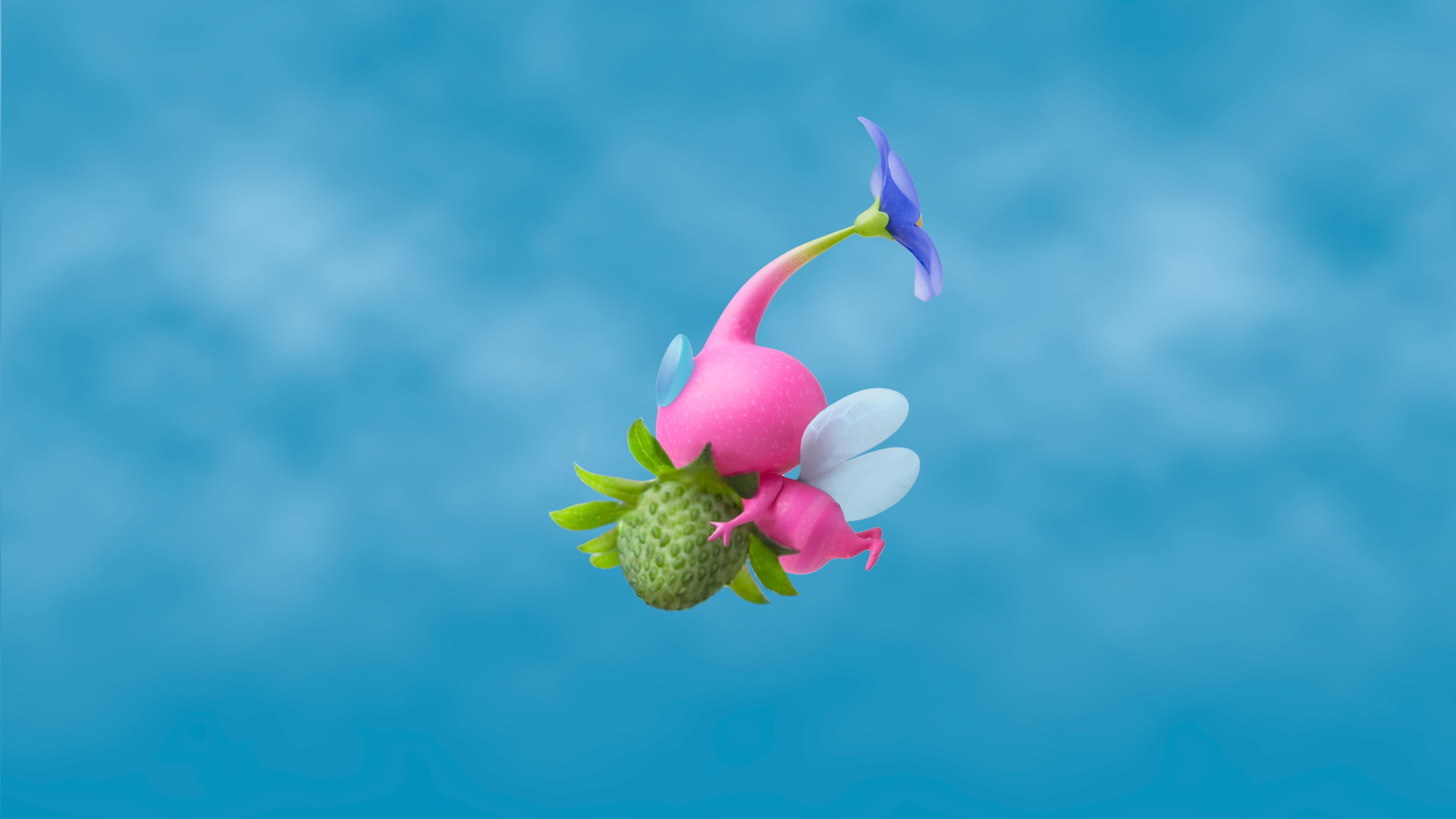 Hey Pikmin Winged UHD 4K Wallpaper Pixelz 3840x2160