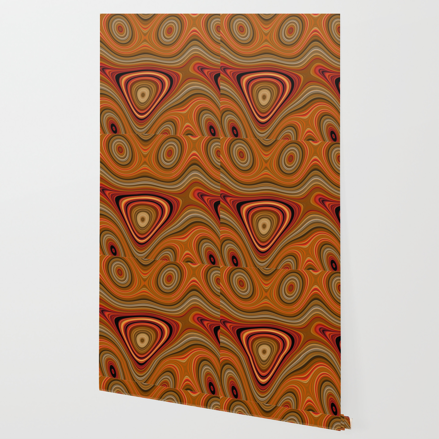 Fordite Lava Frax 1822 4 Wallpaper by bonitum Society6 1500x1500