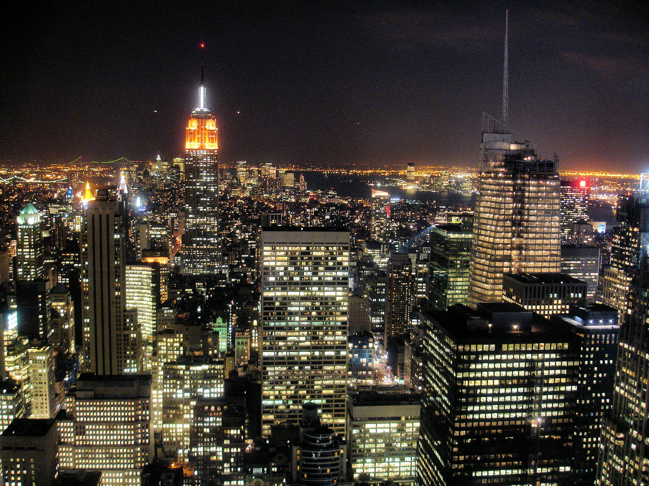 New York City Lights wallpaper 1280x960 21716 1280x960