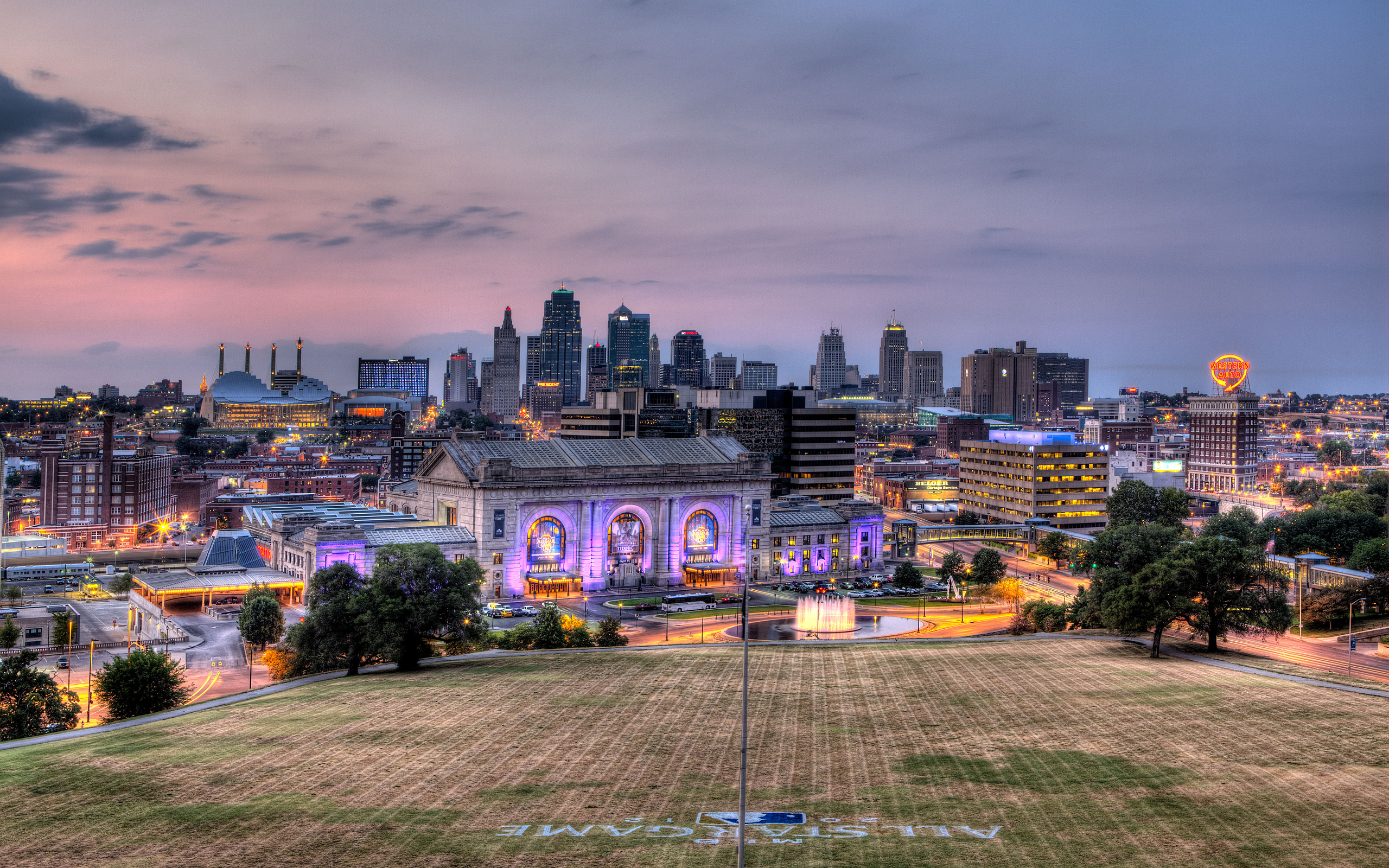 Kansas City USA wallpaper background 2560x1600