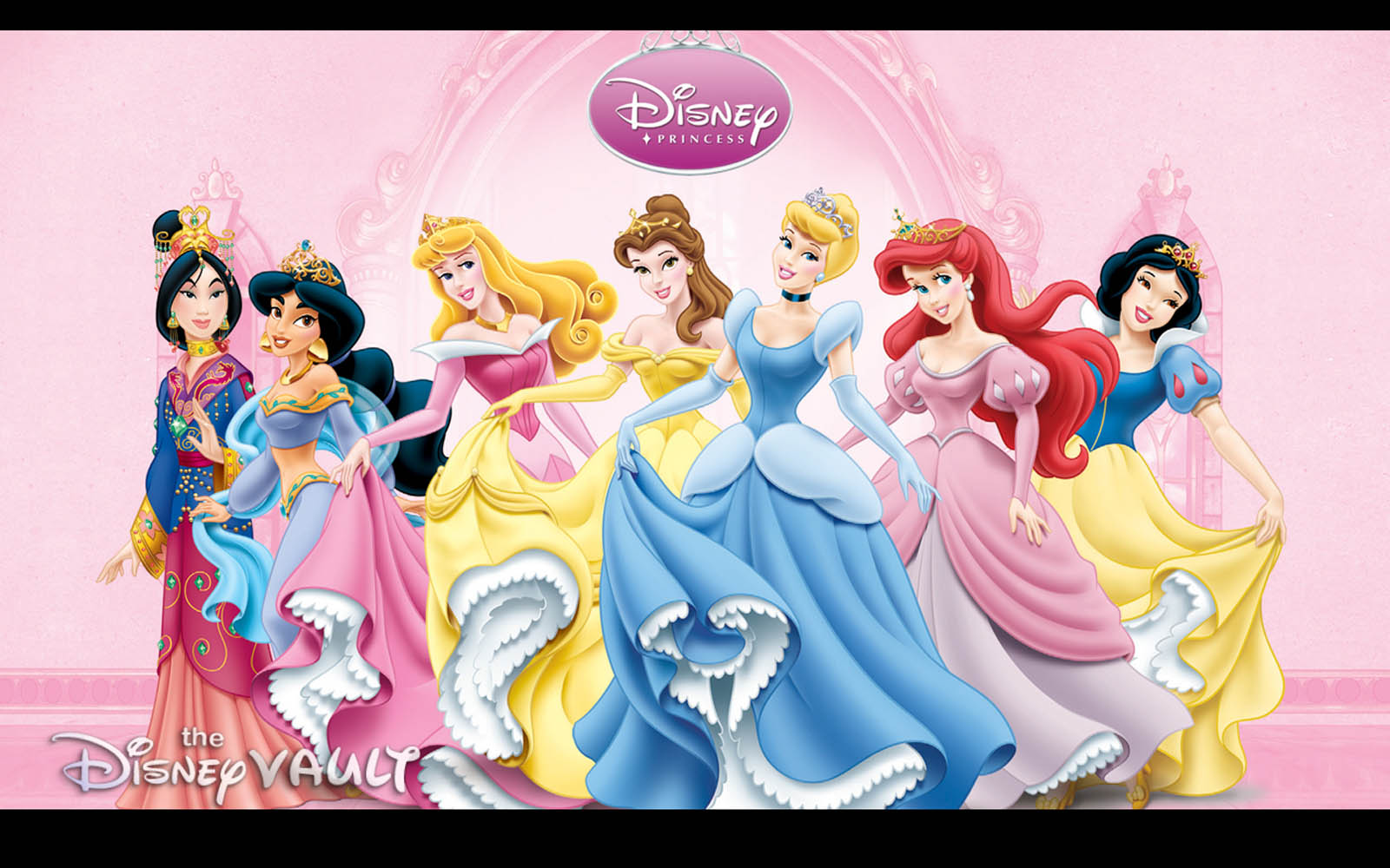 Disney Princess Wallpaperswallpapers screensavers 1600x1000