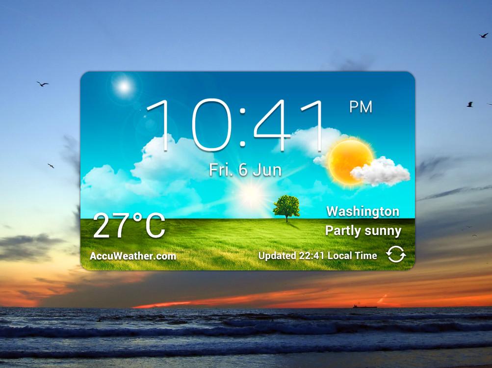 Weather Widget Download