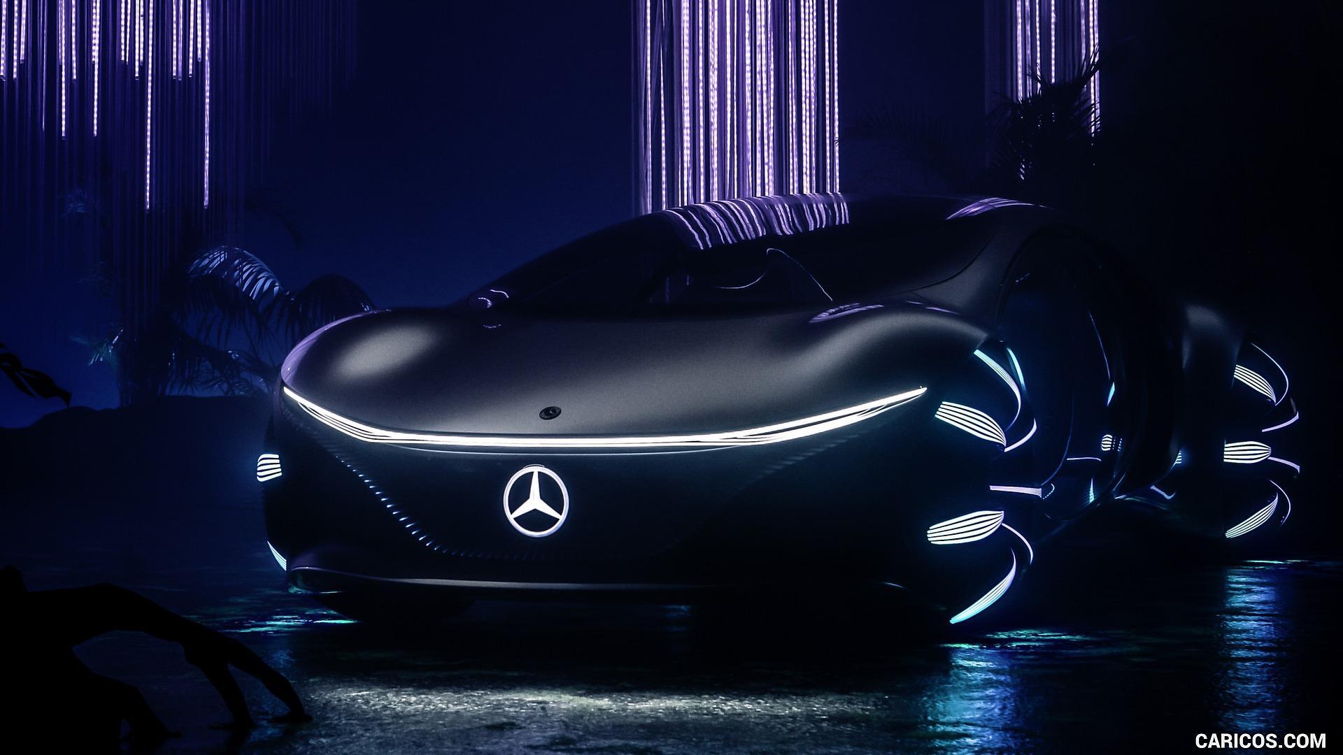 2020 Mercedes Benz VISION AVTR Concept   Front HD Wallpaper 14 1920x1080