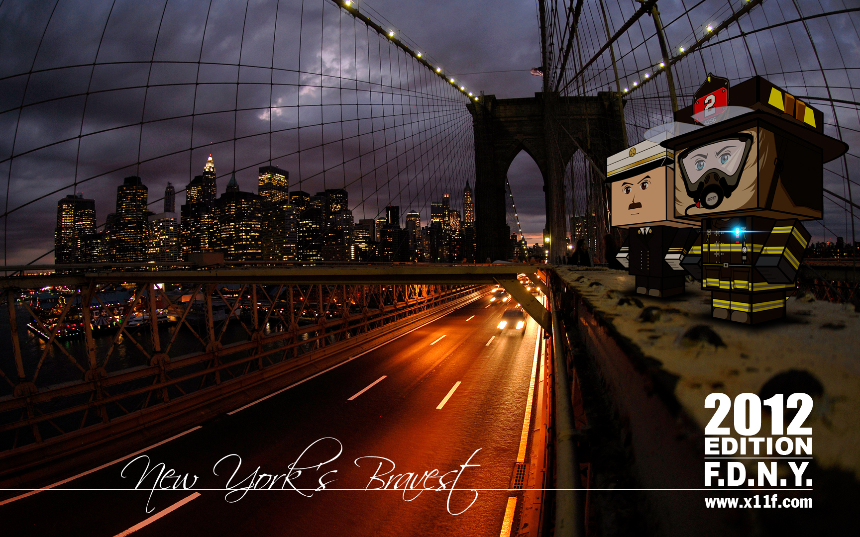 Fdny Wallpaper Fdny firefighters by ricardo 1728x1080