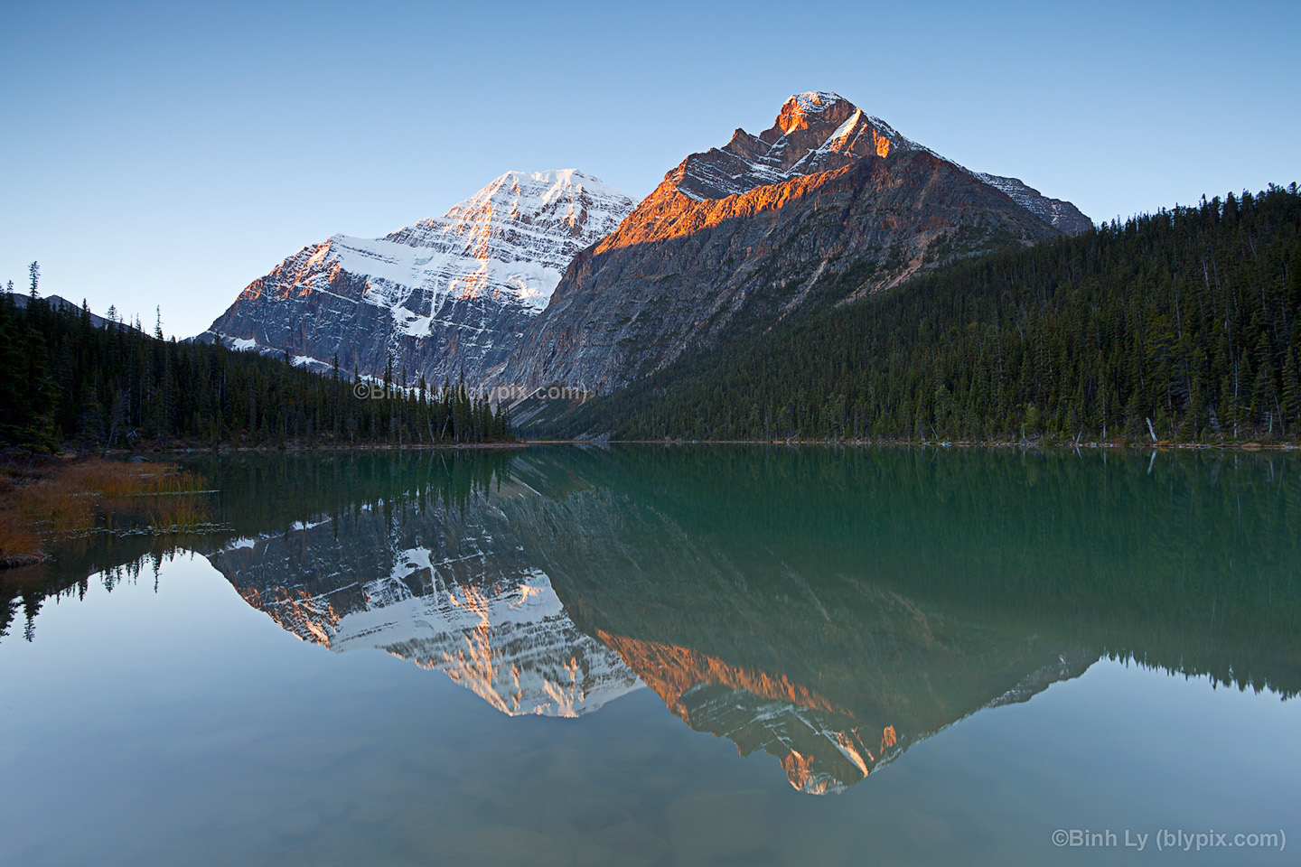 Mount Edith Cavell   Jasper National Park   Canadian Rockies Wallpaper 1440x960
