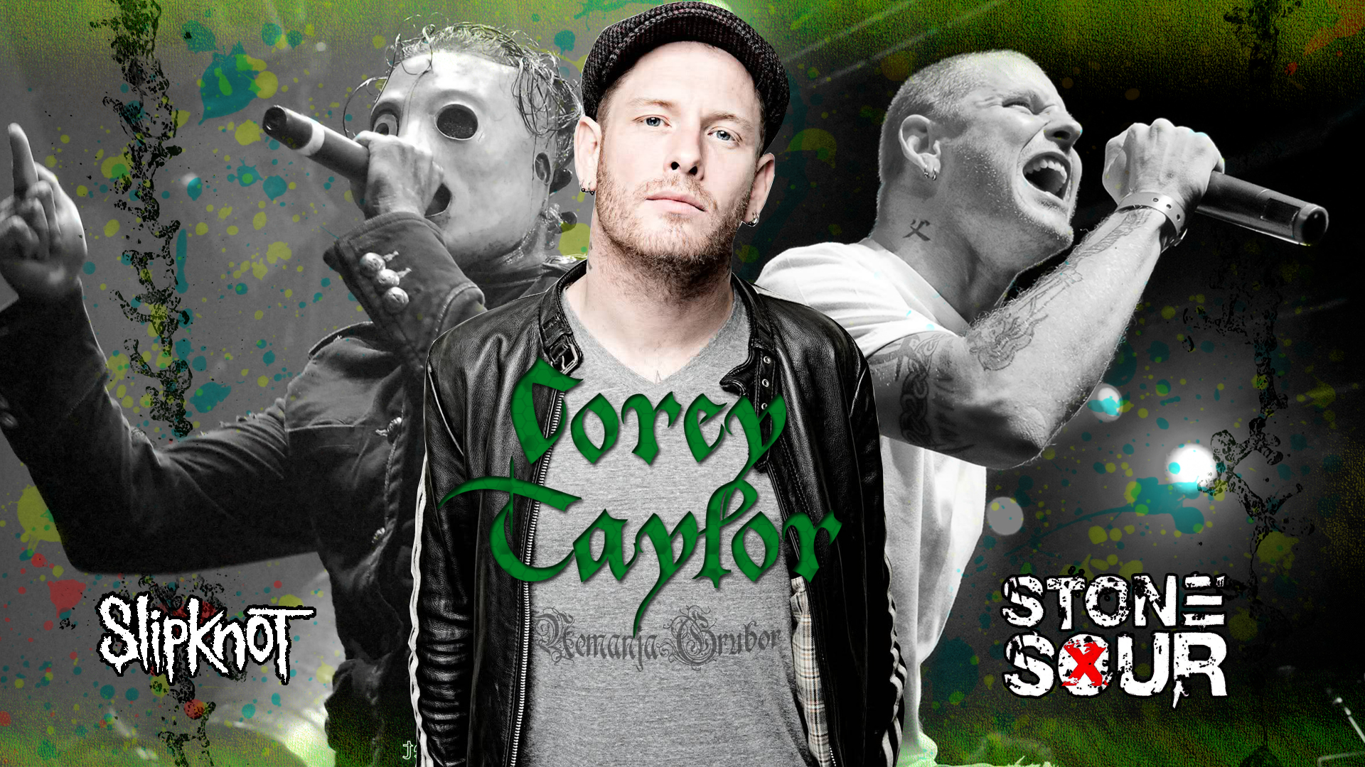 Corey Taylor wallpaper by ngrubor 1920x1080