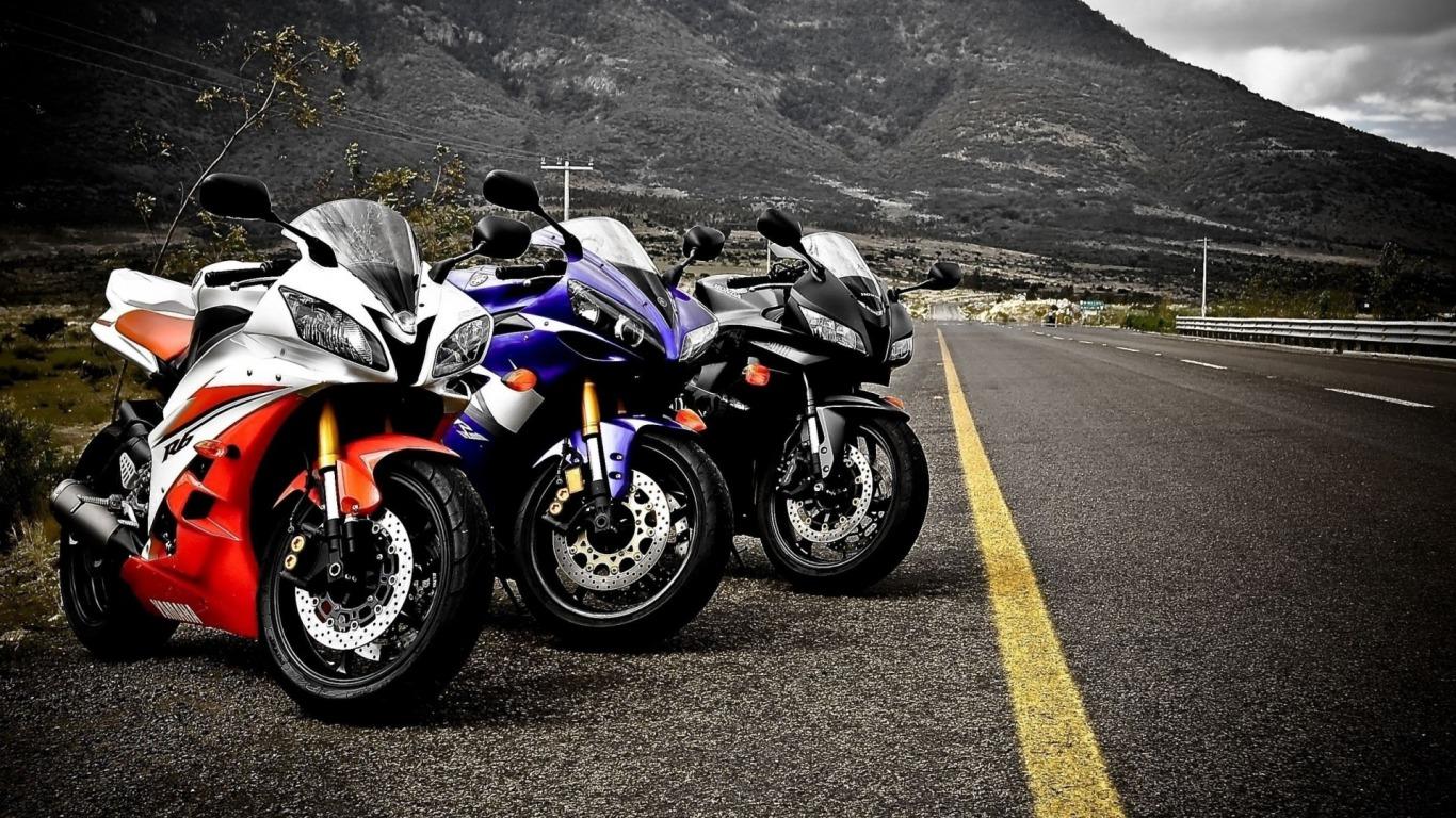 Motos de alta velocidade so umas das mais buscadas por quem gosta de 1366x768