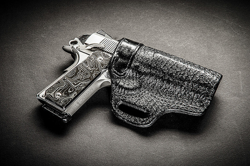 Dahmer Arms Grips Wilson Combat Shark Skin Holster Flickr   Photo 500x333