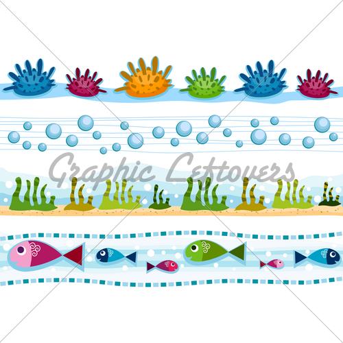 Under Water Borders 500x500