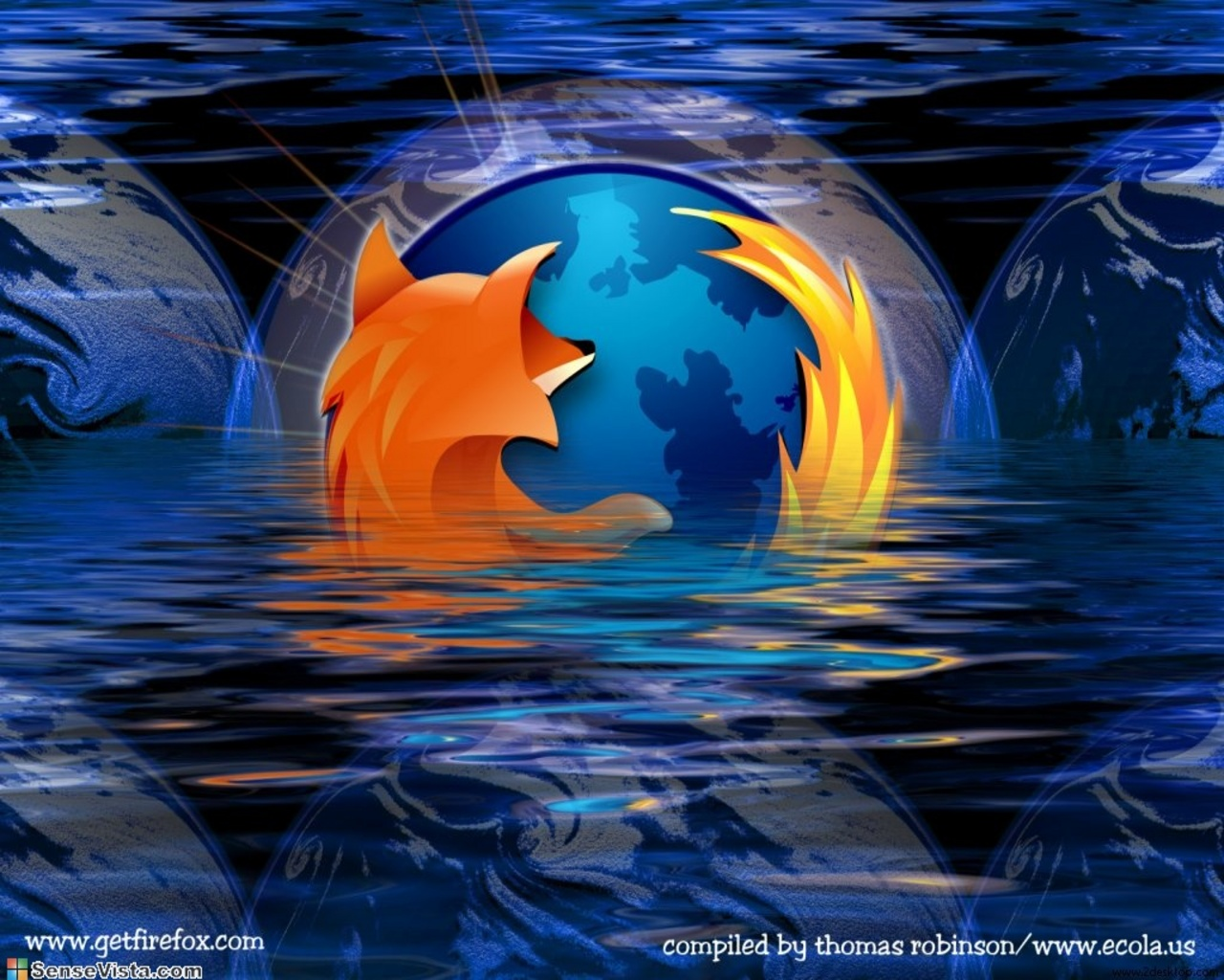 how to change firefox background