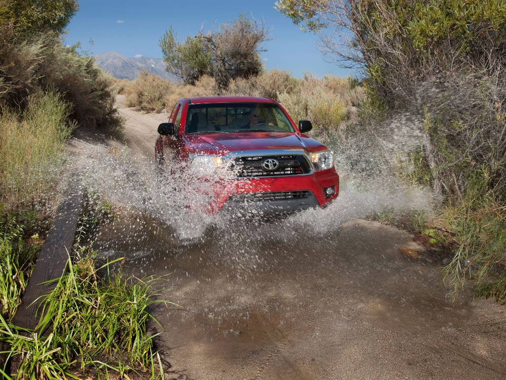 Toyota Tacoma Off Road Normal Resolution HD Wallpaper 1024x768