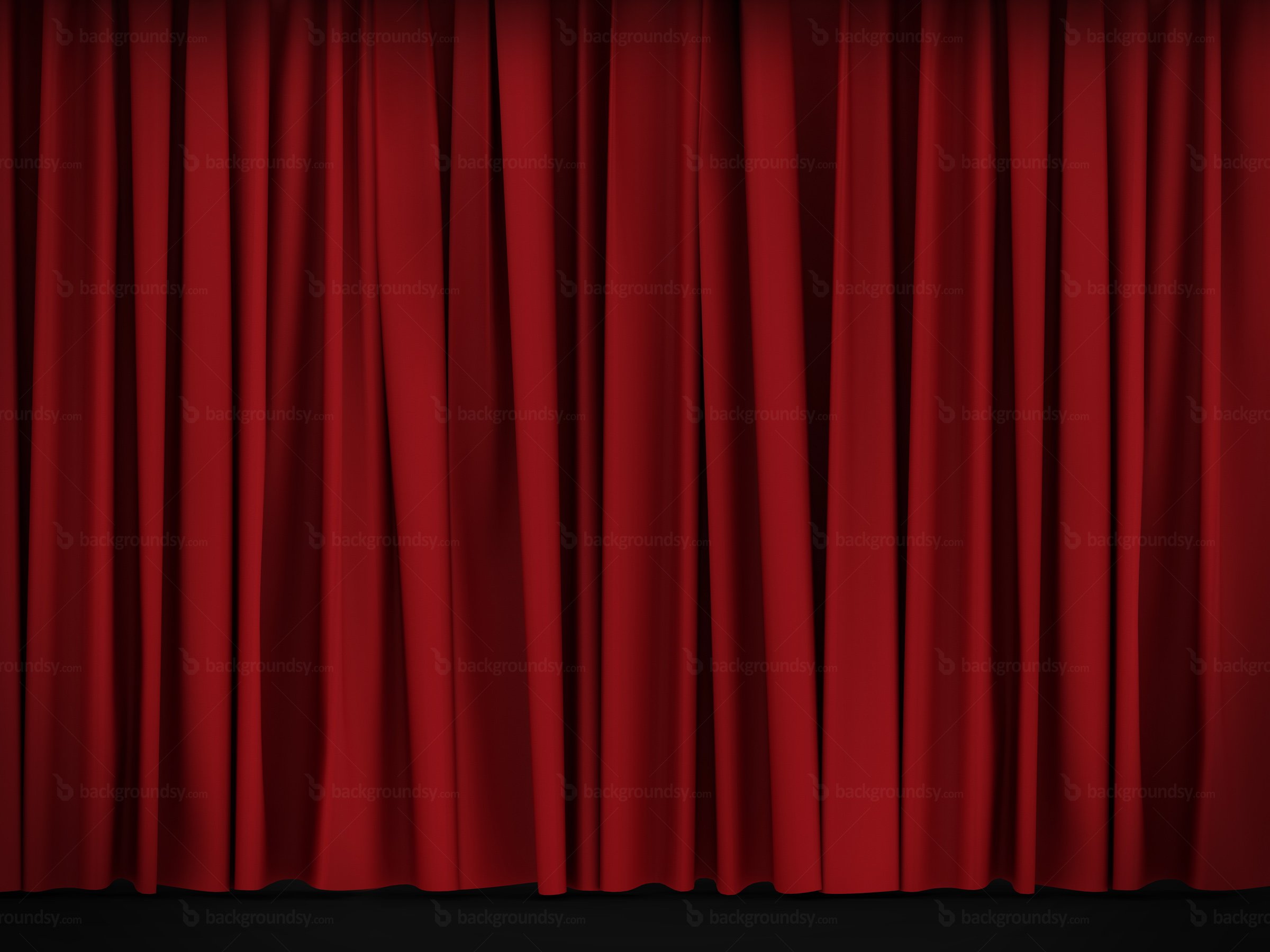 Red curtain wallpaper wallpapersafari for Theatre curtains psd