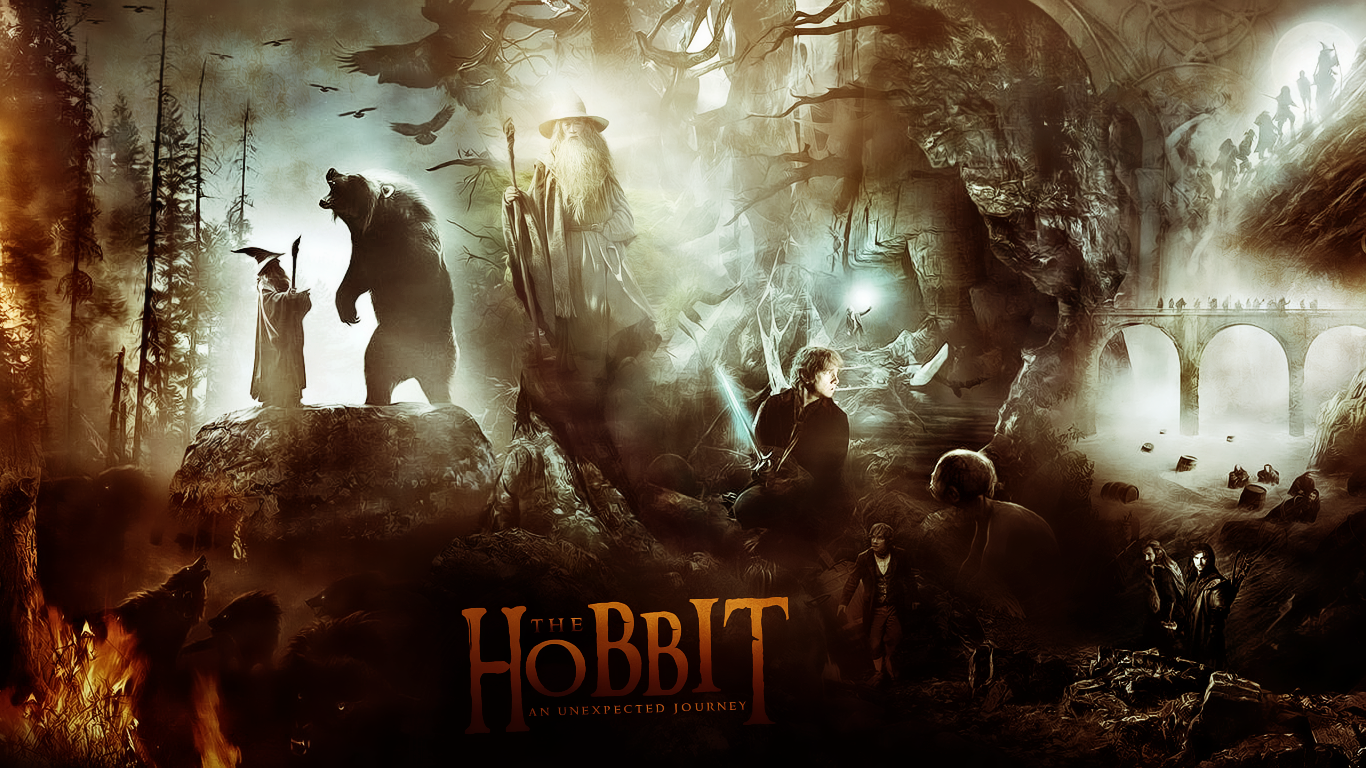 The Hobbit Desktop Wallpaper Cool HD Wallpapers 1366x768