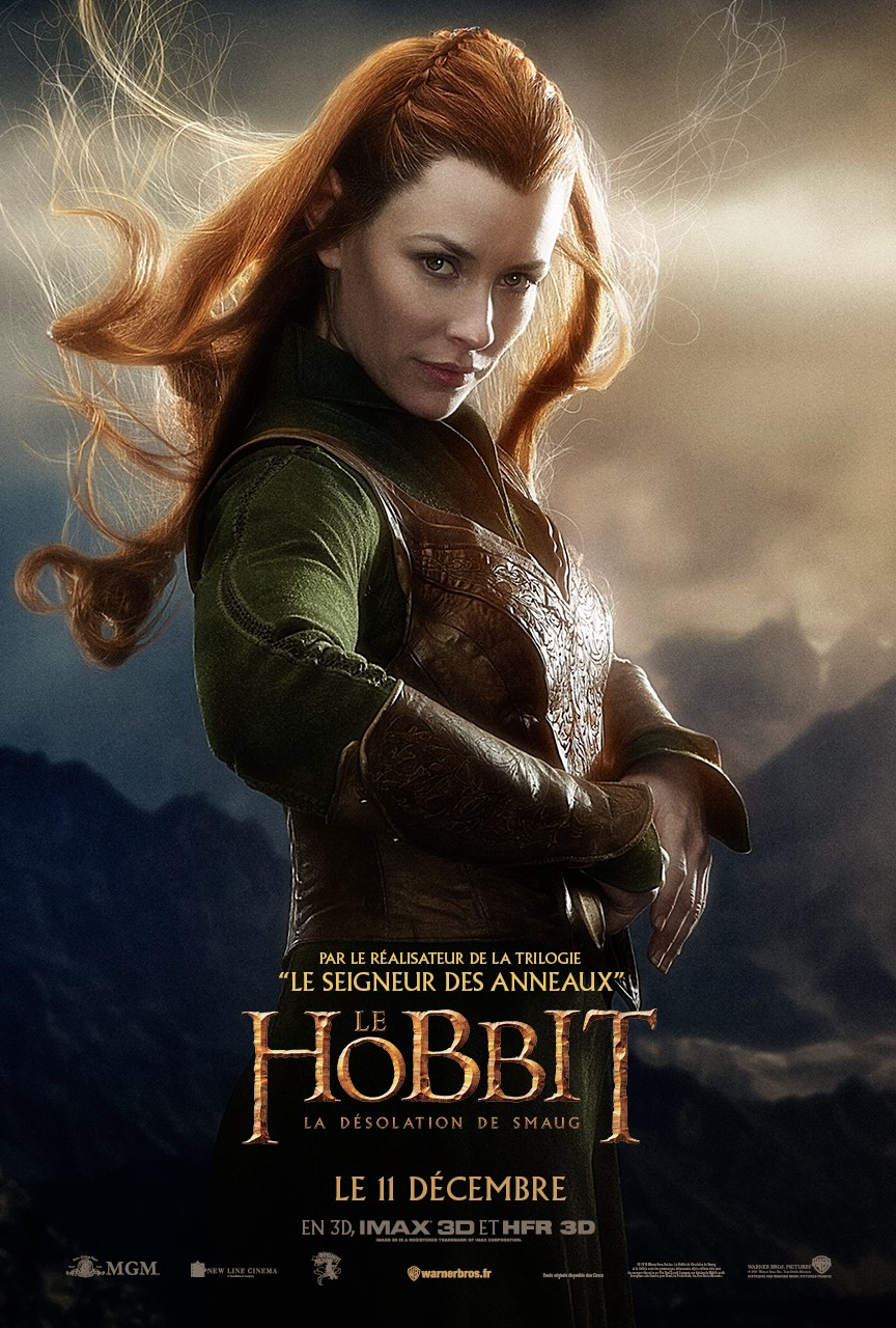 Lilly as Tauriel in Hobbit HD Desktop Wallpapers digitalhintnet 864x1280